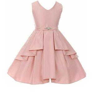 iGirl Little Girls Satin Dress